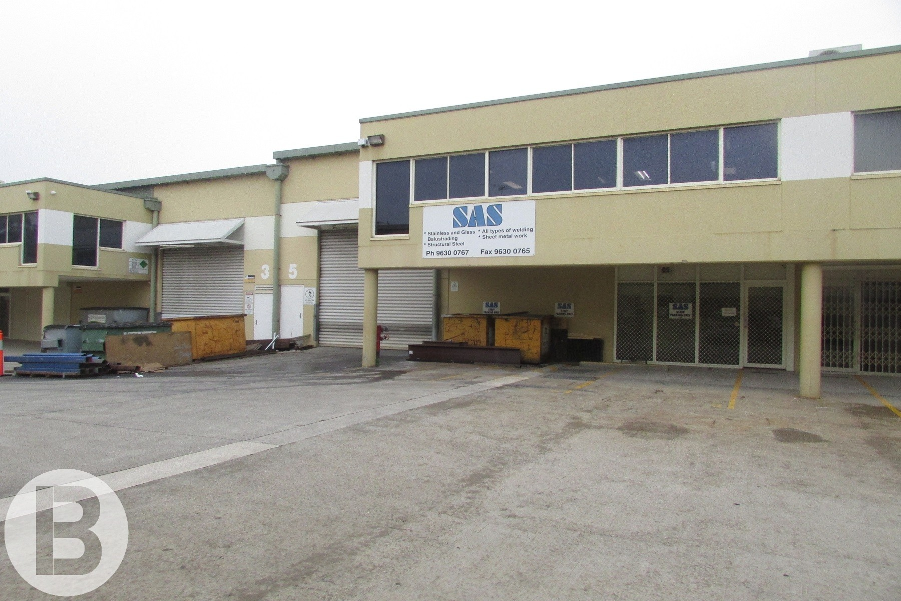 For Lease – Quality High Clearance Established Engineering Workshop.