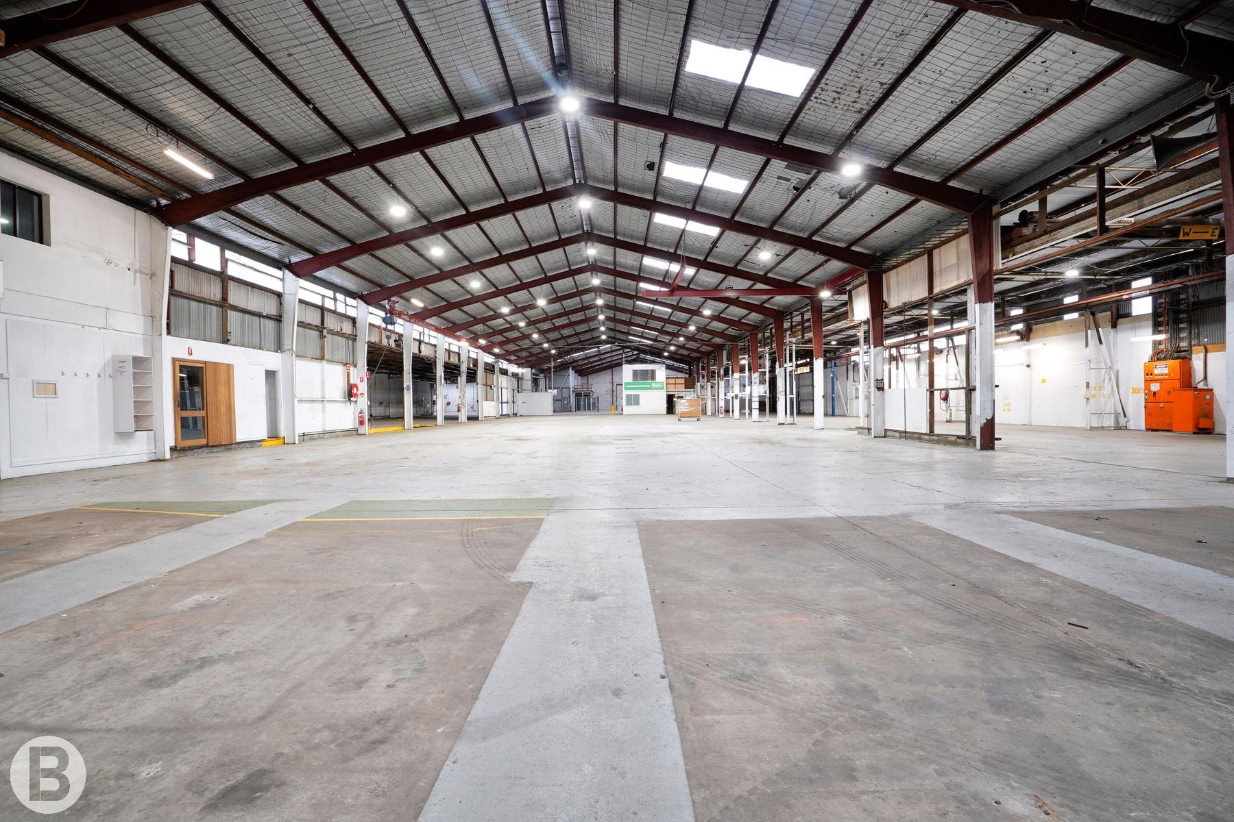 Large Industrial Facility With Development Potential.